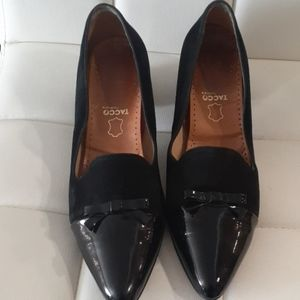 Tacco ukie sued  and Patten leather flats size 9.5